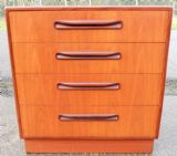 SOLD - Small Teak Chest of Drawers by G-Plan